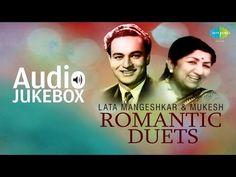 Best Of Lata Mangeshkar & Mukesh Duets - Classic Romantic Songs - Audio… Old Hindi Movie Songs, 9 Songs, Audio Songs, Mp3 Song, Lata Mangeshkar Songs, Evergreen Songs, Bollywood Songs, Bollywood News, Film Song