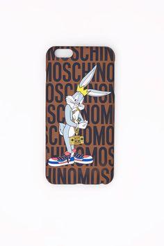 MOSCHINO BUGS BUNNY IPHONE 6 PLUS CASE $ 75