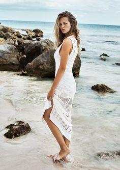 #white #trendy #dress #mango