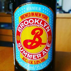 9de196dc1b36 Brooklyn Summer Ale by Brooklyn Brewery  untappd  usa  brooklyn  newyork   paleale