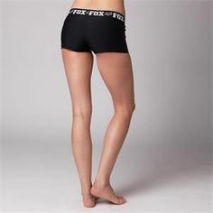 Fox Racing Womens Trainee Active Shorts - Black I need these for under my riding pants!