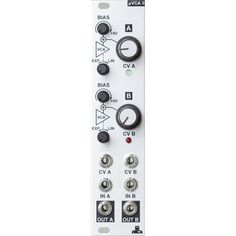 Our favourite space saving VCA - the @intellijel uVCA II is back in stock!