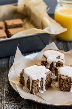 Gingerbread Buckwheat Cake | edibleperspective.com #glutenfree #dairyfree #breakfast