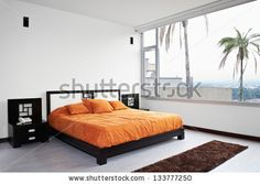 BB - Interior Design: Bedroom - stock photo