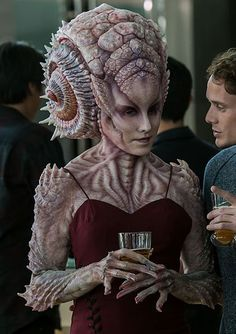"Natalia was an alien woman who spoke with Ensign Pavel Chekov at James T. Kirk's thirtieth birthday party. She was informed by Chekov that Scotch whisky had been invented by ""a little old lady from Russia."" (Star Trek Beyond)"