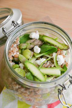Speciale Pasqua: Insalata di Farro con verdure croccanti e feta