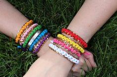 DIY: Chain Friendship Bracelets