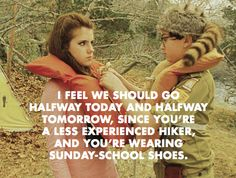 School Shoes: Moonrise Kingdom Sunday School Shoes Quote