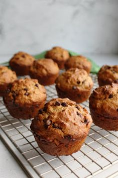 These chocolate chip sourdough muffins are a delicious and nutritious way to start your day! They are quick, easy and full of oatmeal and whole wheat goodness yet they are soft and yummy. So good!