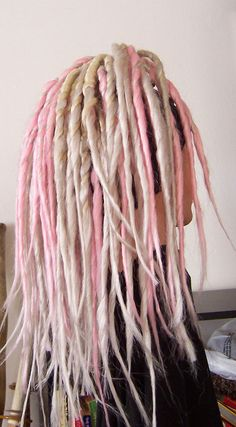 Transitional Dread Falls Three Tone by greenegoth on Etsy, $110.00