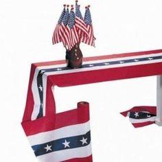 Martha Stewart American Made Annin: Decorative Republic Bunting