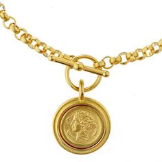 The Met Store - Arethusa Coin Necklace