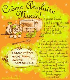 Tambouille - Crème anglaise magic