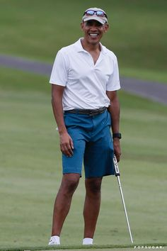 Barack Obama Jets Off to Hawaii For a Round of Golf