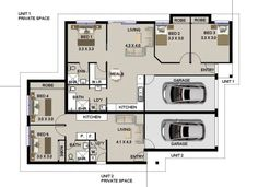 3 Bed Floor Plan With Carport 3 Bedroom House Plans