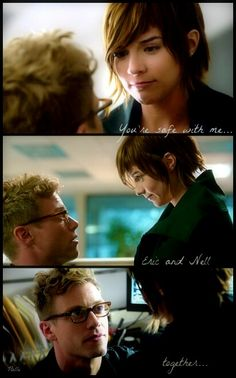Nell and Eric tumblr #ncis la #neric
