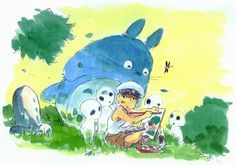 totoro ✤ || CHARACTER DESIGN REFERENCES | キャラクターデザイン | çizgi film • Find more at https://www.facebook.com/CharacterDesignReferences & http://www.pinterest.com/characterdesigh if you're looking for: bandes dessinées, dessin animé #animation #banda #desenhada #toons #manga #BD #historieta #sketch #how #to #draw #strip #fumetto #settei #fumetti #manhwa #anime #cartoni #animati #comics #cartoon || ✤