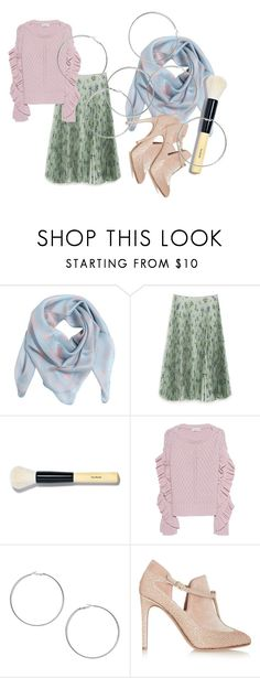"""""""Keep Calm & Connected"""" by rhymingscapes on Polyvore featuring Alexander McQueen, Mulberry, Bobbi Brown Cosmetics, Black Coral, Miss Selfridge and Valentino"""