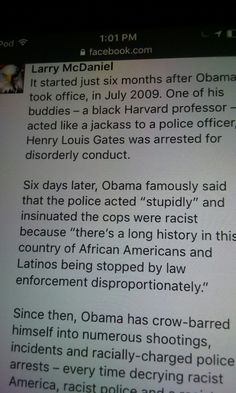 Obama's criminal acts