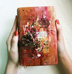 Finnabair Feature-altered book by Kasia Krzyminska!
