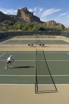 seduction au court de tennis