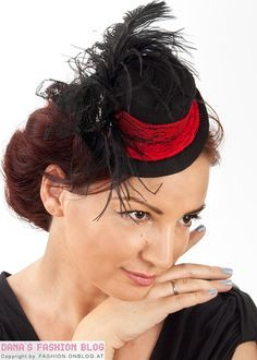 DIY tutorial: small hat for fans of steampunk, burlesque, goth or cosplay