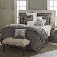 Master Bed Room Fairfield Rustic Bedding Such a pretty theme