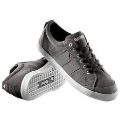 Macbeth Eliot Premium Shoes - Dark Grey White