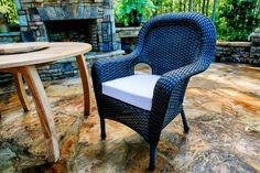 Additional Lexington Wicker Dining Chair (w/purchase of dining set)