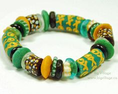 Our jewellery features ethically sourced materials including beads from many countries in Africa. Recycled Glass, Fair Trade, Teal, Beaded Bracelets, Big, Brown, Jewelry, Bangles, Jewlery