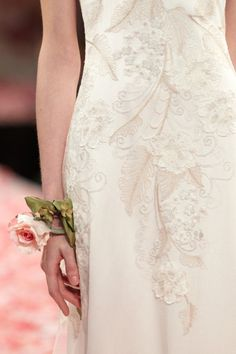 cool chic style fashion: 'Earthly Paradise' by Claire Pettibone // Bridal Collections