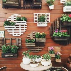 7 Top Ideas For Your Vertical Vegetable Garden Balcony Plants, House Plants Decor, Plant Decor, Garden Crafts, Diy Garden Decor, Garden Projects, Balcony Design, Garden Design, Garden Wall Designs