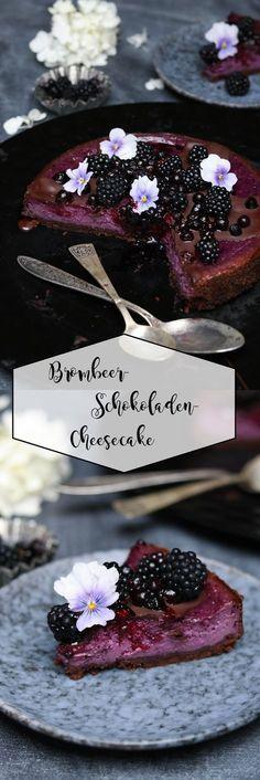 Brombeer-Schokoladen-Cheesecake
