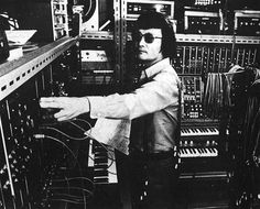 Here is a great shot of the Master at Work, in his great studio of the day. R.I.P. Isao Tomita. A True King of Electronic Music. (Along with other ingenious Electronic Musicians/Producers such as Edgar Froese, Christophe Franke & Vangelis, Ralf Flutter, Eno, Tom Ellard, etc etc.) He will be greatly missed.