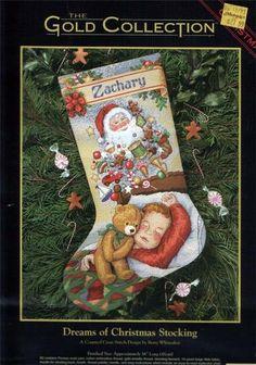 Cross Stitch Christmas Stockings, Cross Stitch Stocking, Xmas Cross Stitch, Xmas Stockings, Christmas Cross, Christmas Stocking Holders, Diy Christmas Ornaments, Cross Stitch Magazines, Diy Projects To Try