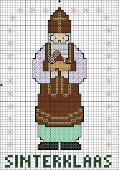 Sinterklaas Cross-stitch Ornament