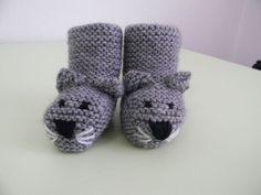 modèle tricot chausson bébé