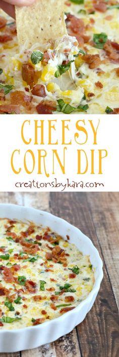 Cheesy Corn Dip with