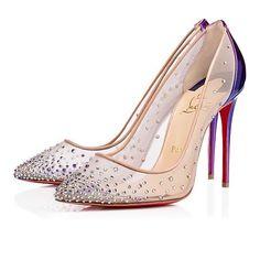 Follies Strass Kid £795.00 #Shoes #Designer #Heels #ChristianLouboutin