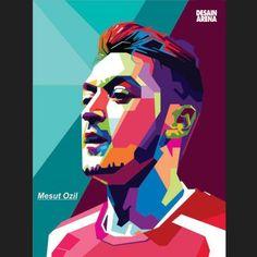 """WPAP"" Mesut Ozil ~ #wpap #art #graphicdesign #draw #drawing #digital #digitalart #digitalpaint #digitaldraw #illustration #coreldraw #instaart #instaartist #sketchbook #football #ozil #hadiahunik #kadospesial #artoftheday #desainarena"