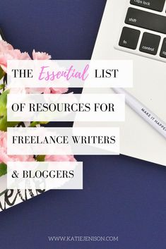 A list of essential resources for freelance writers and bloggers to rock their craft, social media, and affiliate marketing! #freelancewriting #blogging #socialmedia