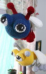 Ravelry: Bug Eyed Bugs Series - Dragonfly pattern - $5.00 by Erin Clark