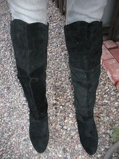 Over The Knee Boots - StyleSays | Needed wants | Pinterest | Black ...