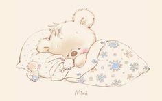 buonanotte #koala #coniglio #pulcini #nanna