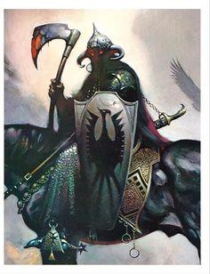 The Art of Frank Frazetta Frank Frazetta, Warrior Angel, Fantasy Warrior, Image Comics, Dark Fantasy Art, Fantasy Artwork, Illustrations, Illustration Art, Art Vampire