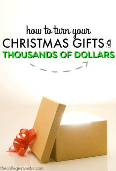 Here are some ways to make money from the Christmas gifts you don't want after the holiday season is over.