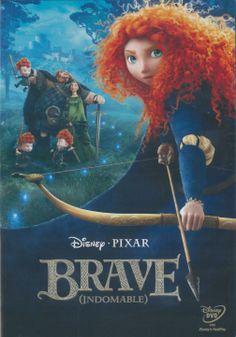 """En las misteriosas y escarpadas Tierras Altas de Escocia, leyendas místicas y épicas batallas han ido pasando de generación en generación desde la antigedad. """"Brave (Indomable)"""", de Disney Pixar, es una nueva historia que conecta con la sabiduría popular. La valiente Mérida se enfrenta a la tradición, al destino y a las bestias más feroces. Brave  (Indomable)(Walt Disney)"""