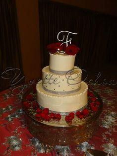 Pastel de boda en Mexicali B#1.135 / Wedding cake