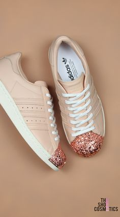 5ff8f7f8447 Explore our Nude Adidas Superstar custom sneakers. Love custom painted  shoes  Then these custom