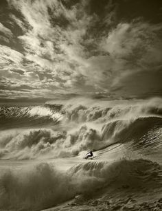 """Lone """"Rider in the storm""""!!!!"""